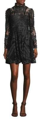 Thurley Heavenly Leaf Mini Dress
