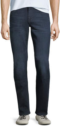 7 For All Mankind Standard Light-Whiskering Jeans