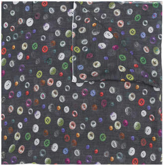 Faliero Sarti button-print scarf