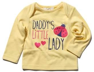 M&Co Daddy's little lady slogan t-shirt