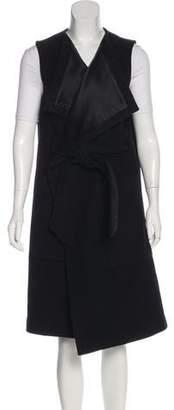Thomas Wylde Wool Belted Vest