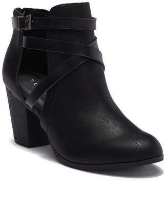 Madden-Girl Doolly Faux Leather Wrap-Around Boot