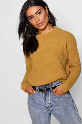 boohoo Chenille Loose Fit Jumper