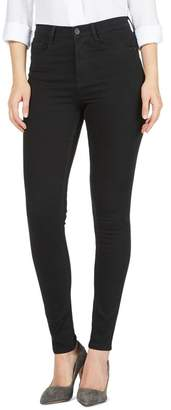 J by Jasper Conran Black 'Sculpt And Lift' High-Waisted Skinny Jeans