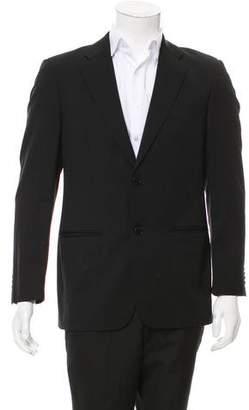 Valentino Virgin Wool Two-Button Blazer