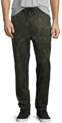 Rag & Bone Drawstring Everett Trousers, Camo $375 thestylecure.com