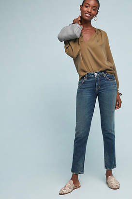 Amo Kate Mid-Rise Straight Jeans