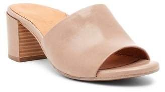 Kenneth Cole Gentle Souls by Chantel Leather Slip-On Sandal