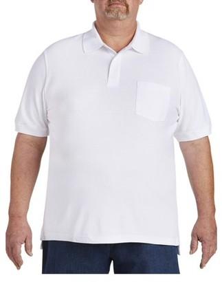 Canyon Ridge Men's Big & Tall Pocket Pique Polo, up to size 7XL