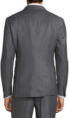 Neiman Marcus Men's Two-Piece Striped Suit