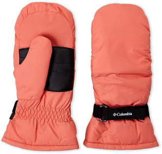 Columbia Girls 7-16) Coral Core Mittens