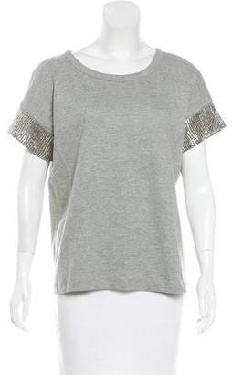 Gryphon Embroidered Knit Top