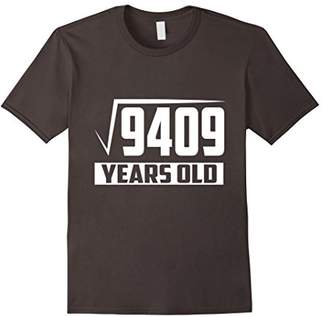 97 Years Old Square Root - Funny 97th Birthday Gift T-Shirt