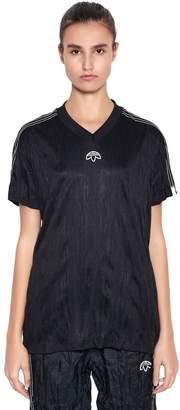 Aw Oversized Wrinkled Jacquard T-Shirt