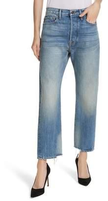 Frame Le Original Staggered Ankle Hem Jeans