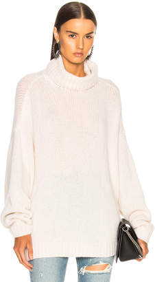 R 13 Boyfriend Cashmere Turtleneck Sweater