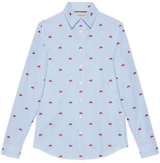Gucci Panthers fil coupé shirt