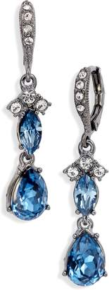 Givenchy Crystral Drop Earrings