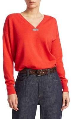 Brunello Cucinelli Cashmere Boyfriend Knit Sweater