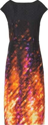 Prada printed bow dress