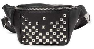 Collection XIIX Ace Pyramid Stud Belt Bag