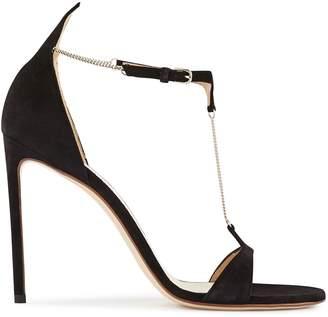 Francesco Russo T-Bar leather pumps