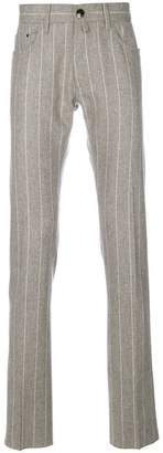 Jacob Cohen striped tailored trousers