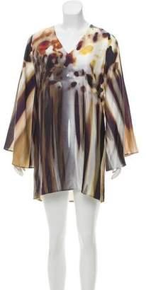 Alexis Bell-Sleeve Mini Dress w/ Tags