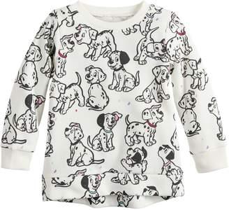 Princess Girls Disneyjumping Beans Disney's 101 Dalmatians Baby Girl Fleece Sweatshirt by Jumping Beans