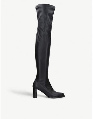 Stella McCartney Over-the-knee faux-leather boots
