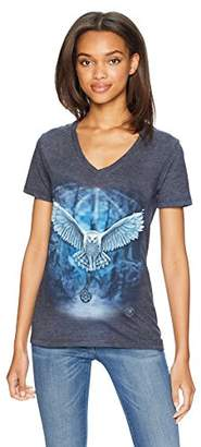 The Mountain Women's Tri-Blend V-Neck Awake Your Magic T-Shirt