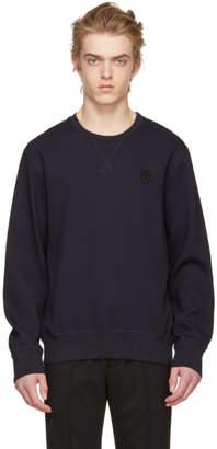 Alexander McQueen Blue Skull Sweatshirt