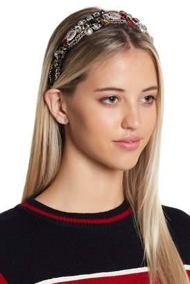 Cara Accessories Ornate Embellished Headband