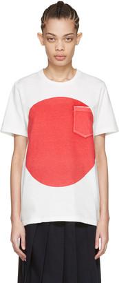 Blue Blue Japan White Flag T-Shirt $140 thestylecure.com