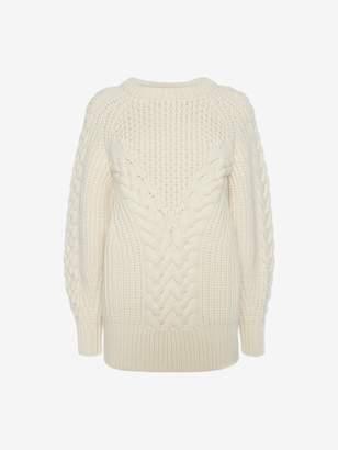 Alexander McQueen Aran Knit Sweater