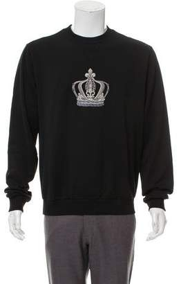 Dolce & Gabbana Crown-Embroidered Sweatshirt