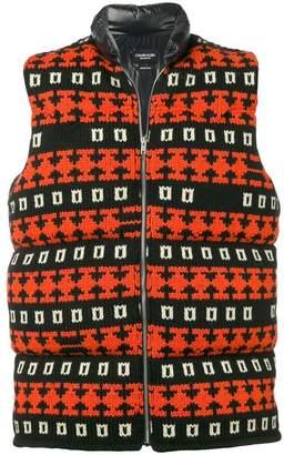 Calvin Klein padded knit gilet