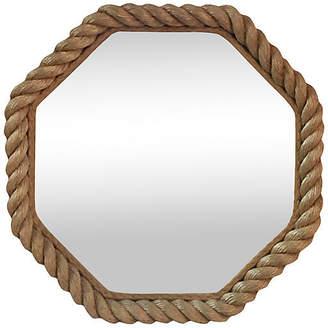 One Kings Lane Vintage Rope Mirror Audoux Minet - majolicadream