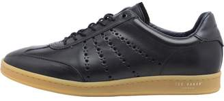 Ted Baker Mens Orlee Leather Trainers Black