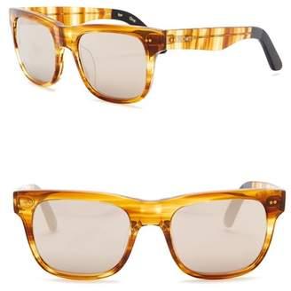 Toms James 55mm Square Sunglasses