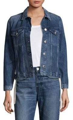 3x1 Hollow Denim Jacket