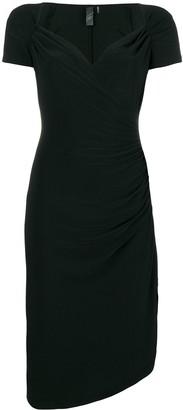 Norma Kamali classic fitted midi dress