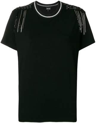 Just Cavalli embellished T-shirt