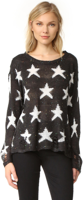 Wildfox Seeing Stars Sweater $190 thestylecure.com