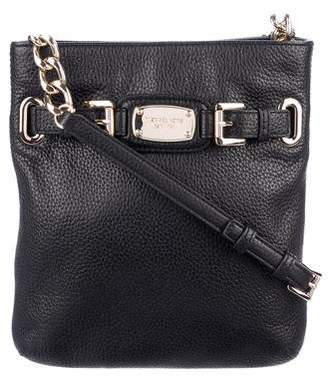 6e8b4b4cb9a9 MICHAEL Michael Kors Black Leather Crossbody Handbags - ShopStyle