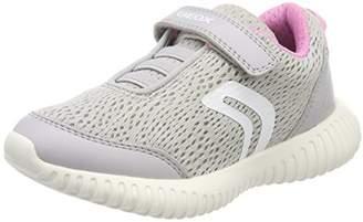 Geox Girl's J Waviness Girl Sneakers,37 EU/