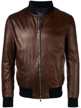 Barba front zip jacket