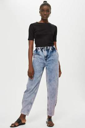 Topshop Pink Tint Mensy Jeans by Boutique