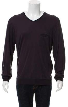 Giorgio Armani Basic Long Sleeve T-Shirt