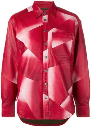 Zadig & Voltaire Zadig&Voltaire Fashion Show Tais oversized shirt